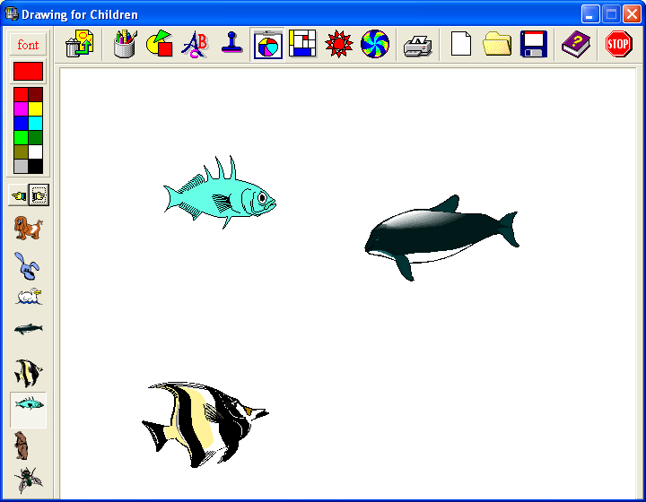 contoh gambar menggunakan program drawing for children - Graffiti ...